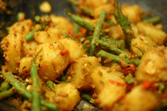 IMG_0112 potato and green bean curry