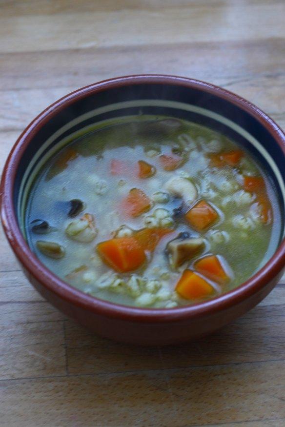 IMG_0762 mushroom and barley soup